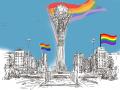 Активист подал заявление на проведение первого митинга ЛГБТ+ в Астане и Алматы