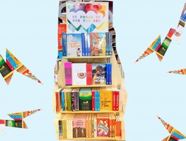 В Меломане появилась выставка ЛГБТ-книг