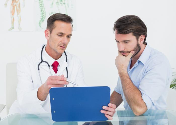 Секси наприеме у врача