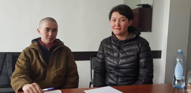 Ася Тулесова и Бейбарыс Толымбаев