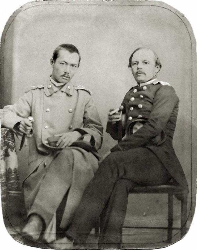 Ш. Валиханов и Ф. Достоевский