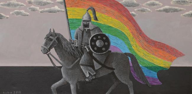 Куаныш Базаргалиев «Вы хотите батыров? Их есть у меня», 2017г.