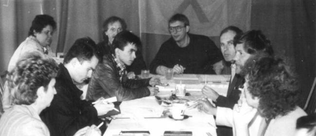 Заседание парламента SOHO в Чешских Будеевицах
